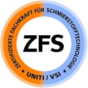 Logo Zertifizierte Fachkraft Schmierstofftechnologie