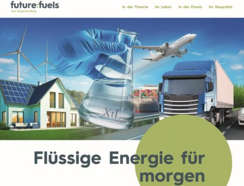 Future Fuels-Blog über regenerative Energieträger