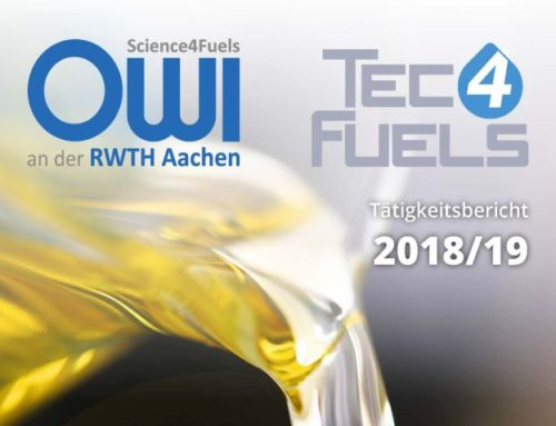 Activity report 2018/ 19 of OWI and TEC4FUELS published