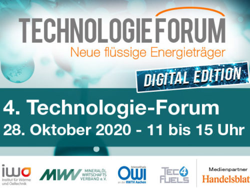 "Save the Date: Technology Forum ""New Liquid Energy Sources"""