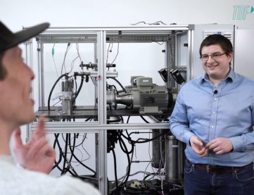 Testing of climate-friendly fuels in the video